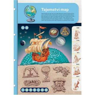 Obrázek 3 produktu Albi Kouzelné čtení Dvoulist - Tajemství map