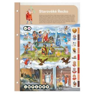 Obrázek 2 produktu Albi Kouzelné čtení Dvoulist - Starověké Řecko