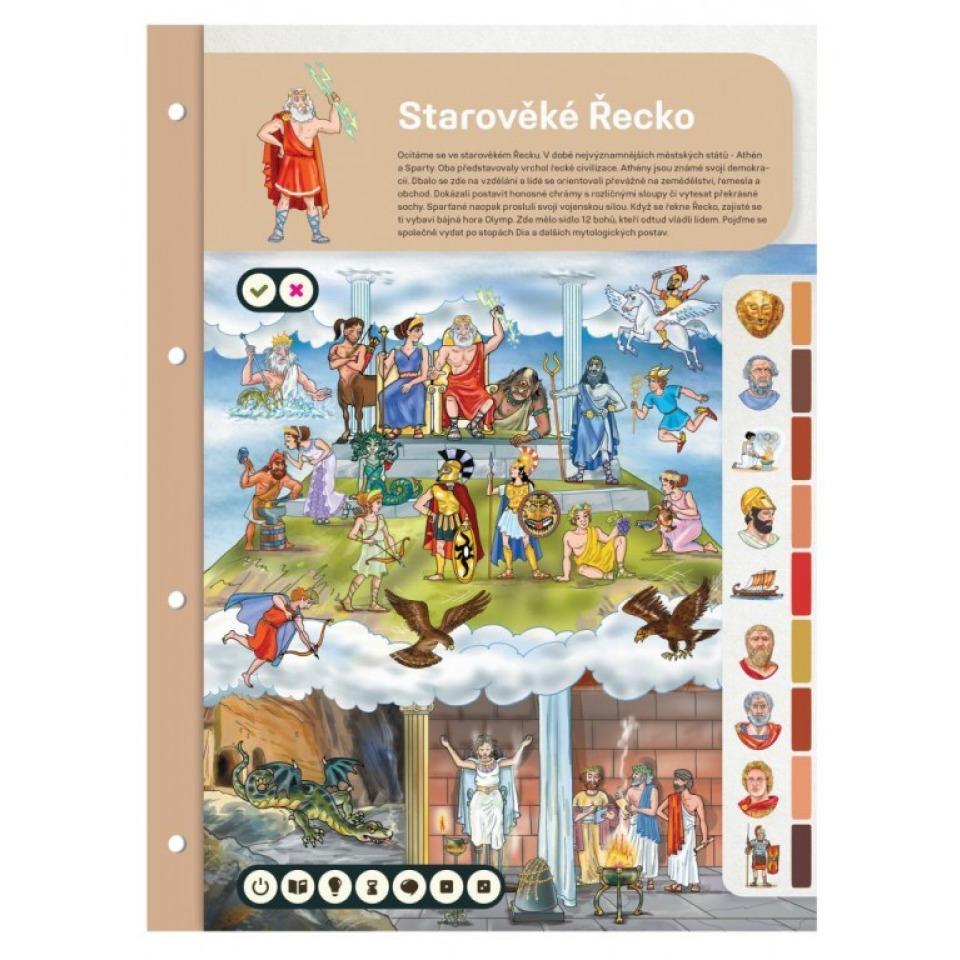 Obrázek 1 produktu Albi Kouzelné čtení Dvoulist - Starověké Řecko