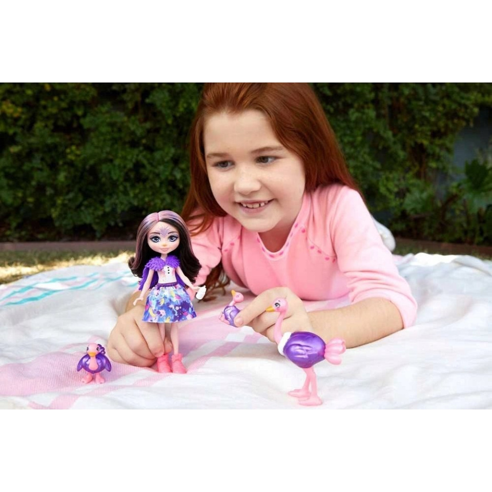Obrázek 3 produktu ENCHANTIMALS Rodinka Ofelia se pštrosy, Mattel GTM32