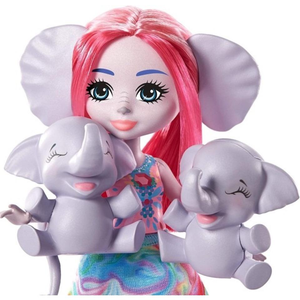 Obrázek 2 produktu ENCHANTIMALS Rodinka Esmeralda se slony, Mattel GTM30