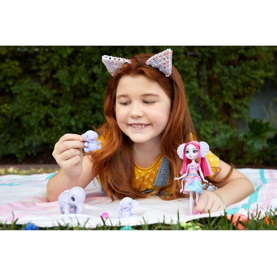 Obrázek 3 produktu ENCHANTIMALS Rodinka Esmeralda se slony, Mattel GTM30