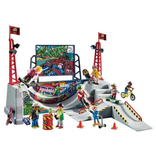 Obrázek 2 produktu Playmobil 70168 Skatepark s rampou