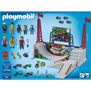 Obrázek 3 produktu Playmobil 70168 Skatepark s rampou