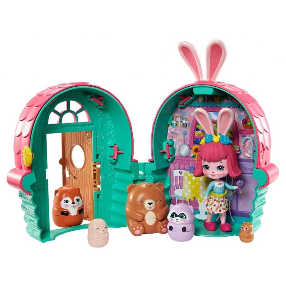 Obrázek 2 produktu ENCHANTIMALS Tajné útočiště nejlepších přátel, Bree Bunny Cabin Mattel GTM47