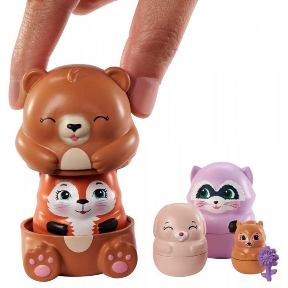 Obrázek 4 produktu ENCHANTIMALS Tajné útočiště nejlepších přátel, Bree Bunny Cabin Mattel GTM47