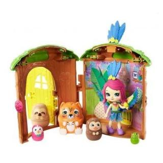 Obrázek 2 produktu ENCHANTIMALS Tajné útočiště nejlepších přátel, Peeki Parrot Tree Hut, Mattel GTM49