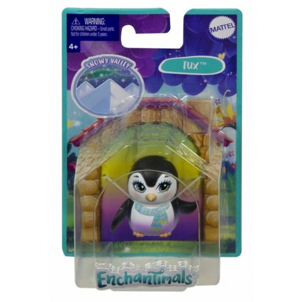 Obrázek 1 produktu ENCHANTIMALS Besties Nejlepší přítel Tux, Mattel GVT48