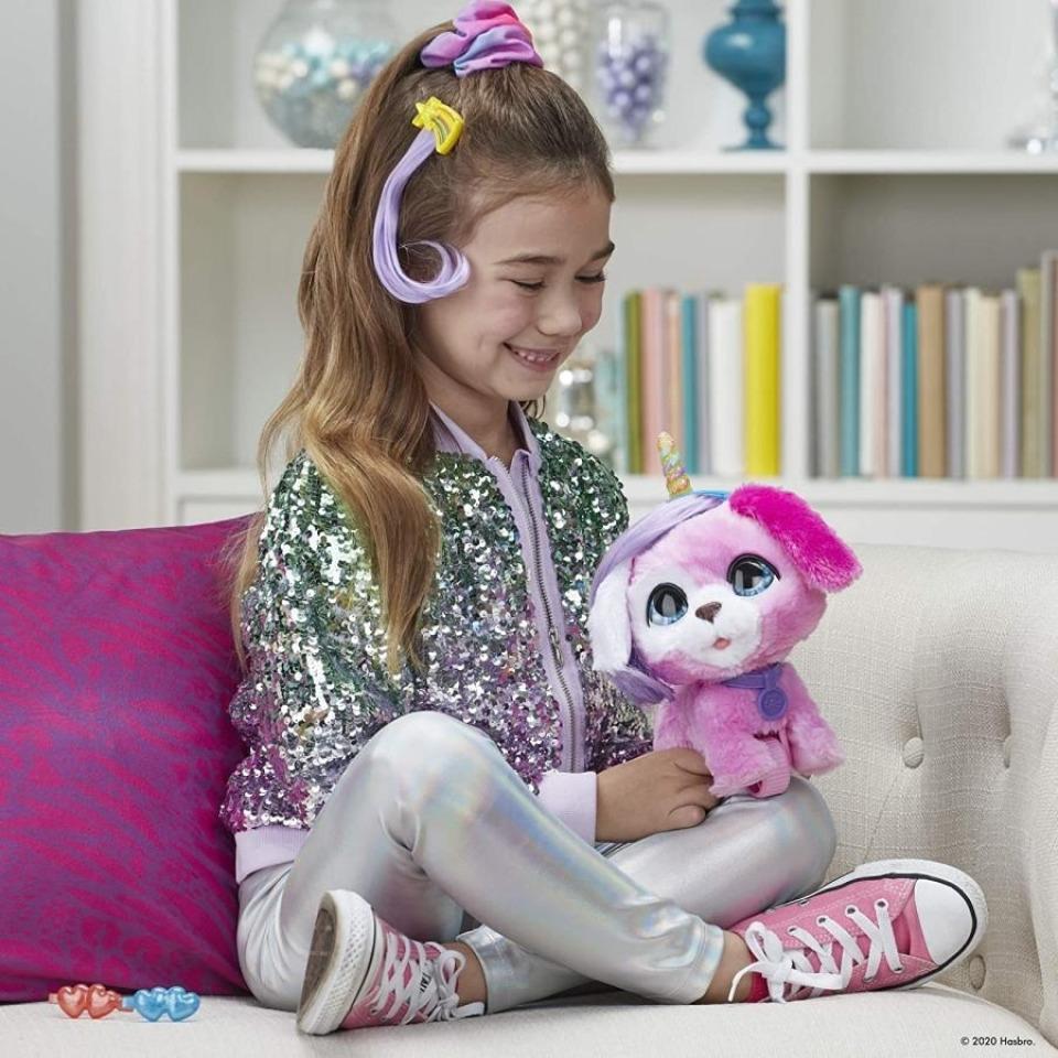 Obrázek 2 produktu FurReal Friends GLAMALOTS Růžový pejsek, Hasbro F1544