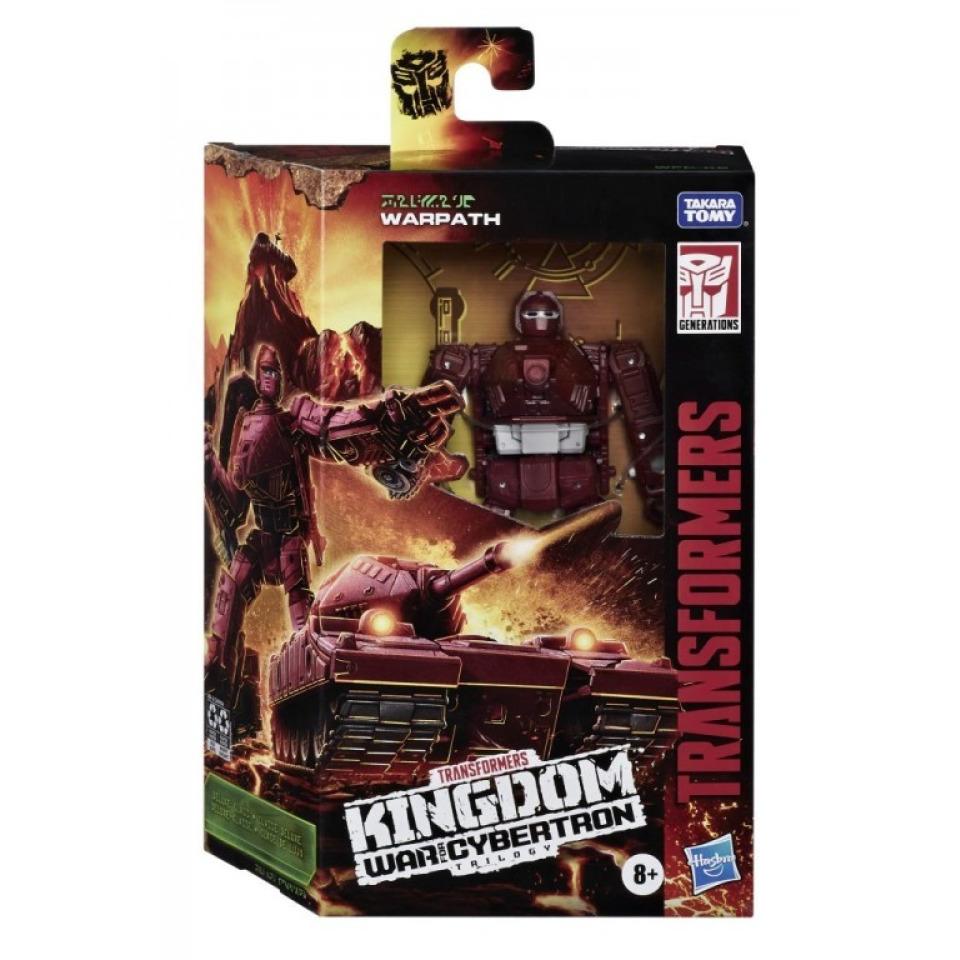 Obrázek 3 produktu Transformers Generations WFC Kingdom WARPATH , Hasbro F0671