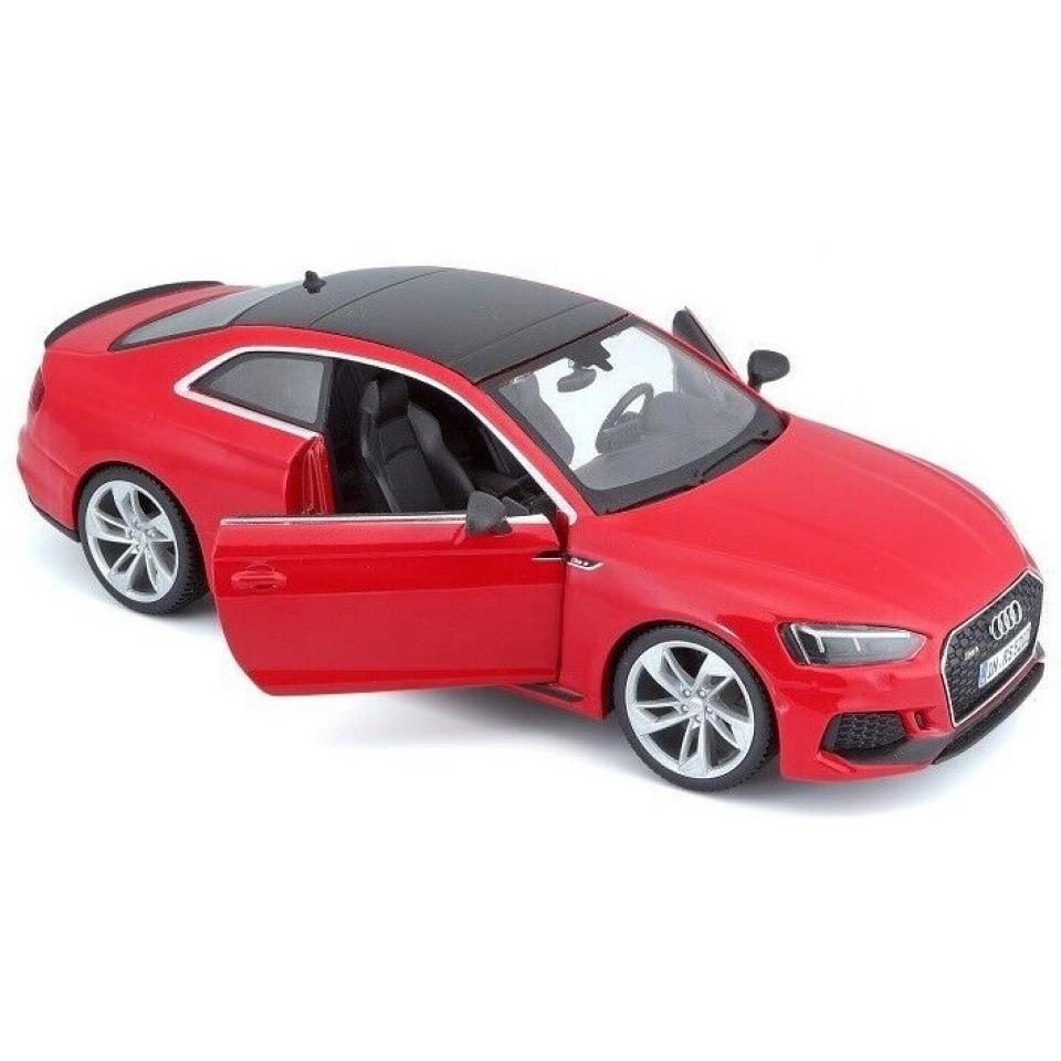 Obrázek 1 produktu Burago Audi RS 5 Coupé 1:24 červené