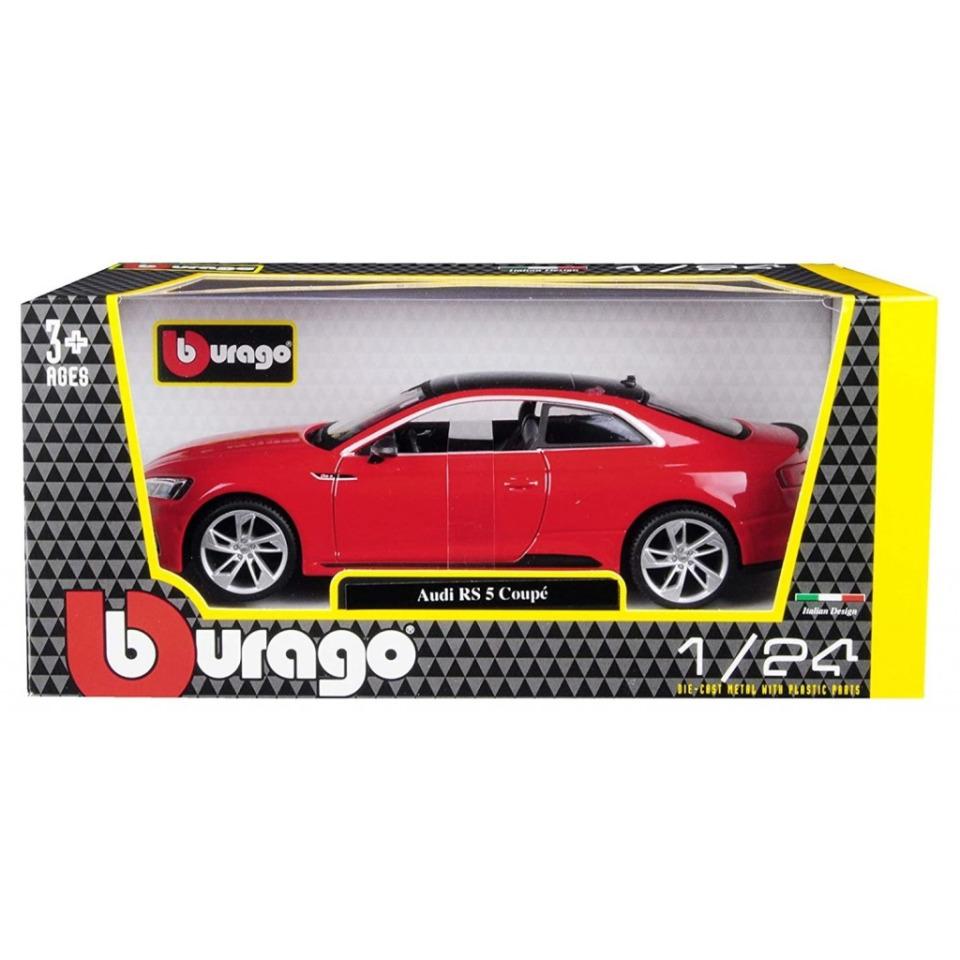 Obrázek 2 produktu Burago Audi RS 5 Coupé 1:24 červené