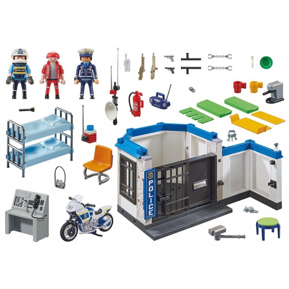 Obrázek 1 produktu Playmobil 70568 Policie: Útěk z vězení