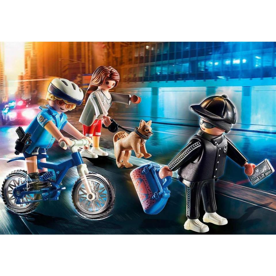 Obrázek 2 produktu Playmobil 70573 Policejní kolo: Pronásledování kapsáře