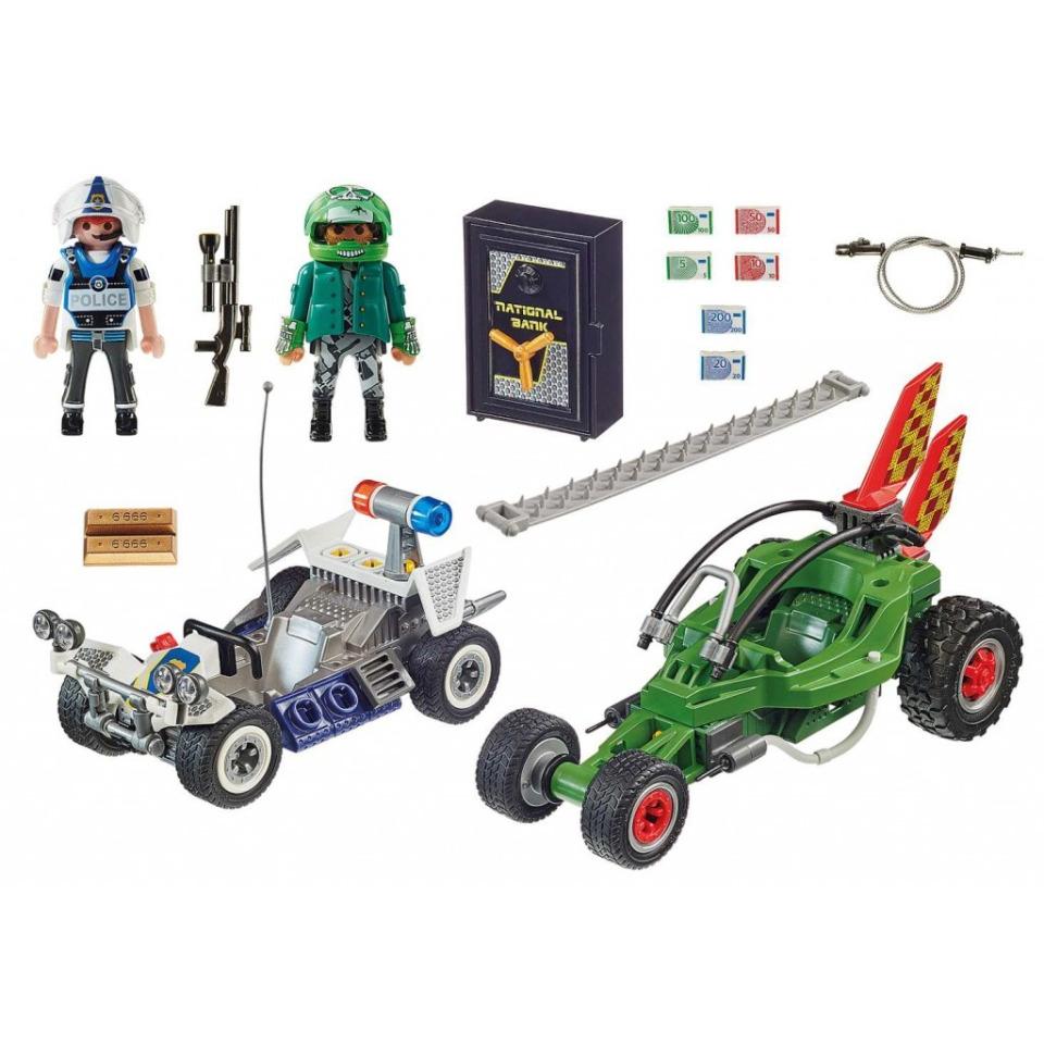 Obrázek 1 produktu Playmobil 70577 Policejní motokára: Pronásledování lupiče trezoru