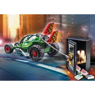 Obrázek 3 produktu Playmobil 70577 Policejní motokára: Pronásledování lupiče trezoru