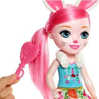 Obrázek 2 produktu ENCHANTIMALS Panenka se zvířátkem Bree Bunny a Twist 30cm, Mattel FRH52