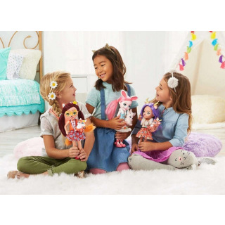 Obrázek 3 produktu ENCHANTIMALS Panenka se zvířátkem Bree Bunny a Twist 30cm, Mattel FRH52