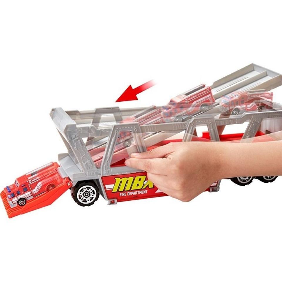 Obrázek 2 produktu Matchbox Hasičské auto Fire Rescue Hauler, Mattel GWM23