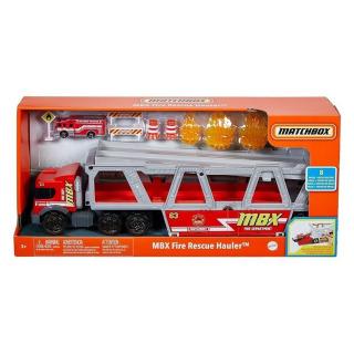 Obrázek 5 produktu Matchbox Hasičské auto Fire Rescue Hauler, Mattel GWM23