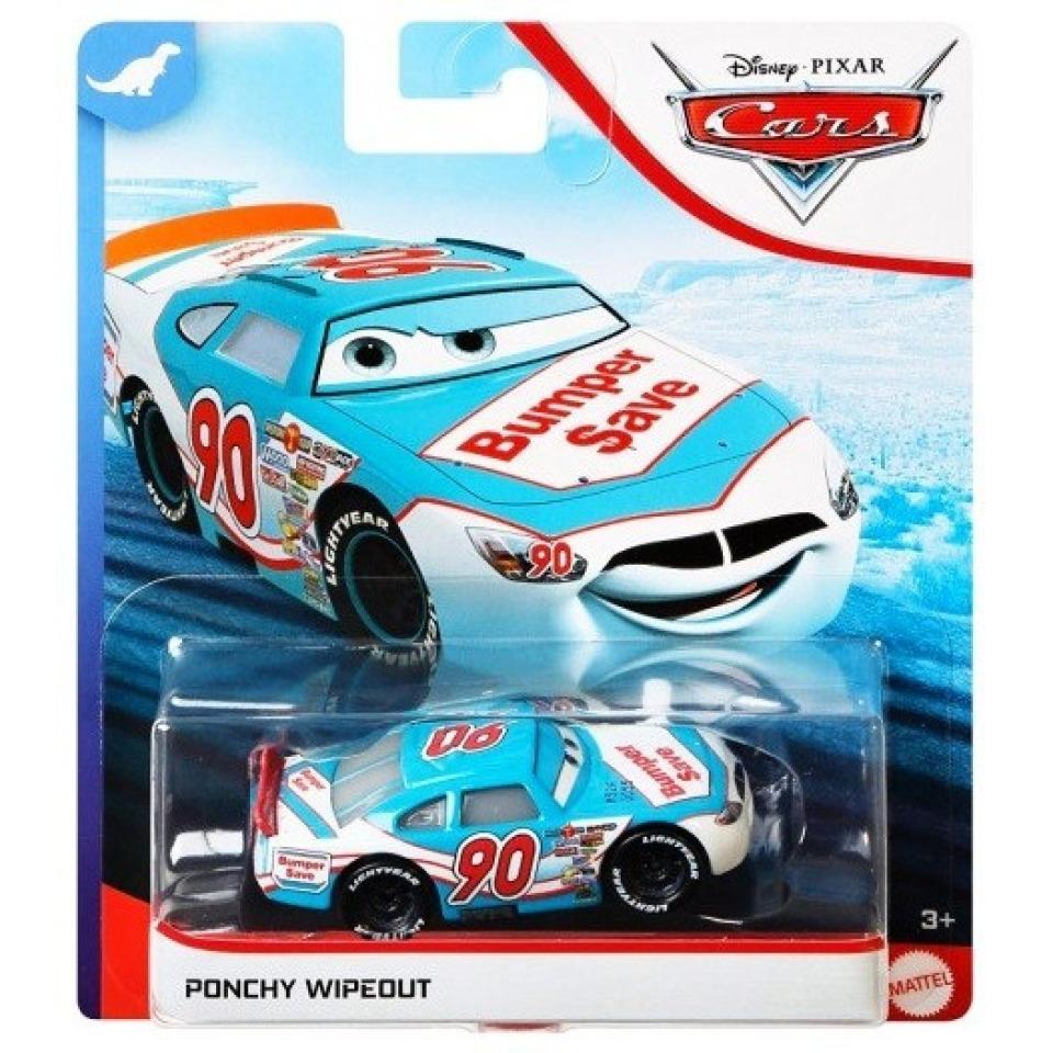 Obrázek 1 produktu Cars 3 Autíčko PONCHY WIPEOUT, Mattel GKB38/DXV29