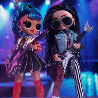Obrázek 4 produktu L.O.L. Surprise! OMG Velká ségra a Velký brácha Punk grrrl a Rocker Boi