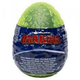 Obrázek 3 produktu Draci 3 - Plyšák ve vajíčku Evolved Bezzubka Green