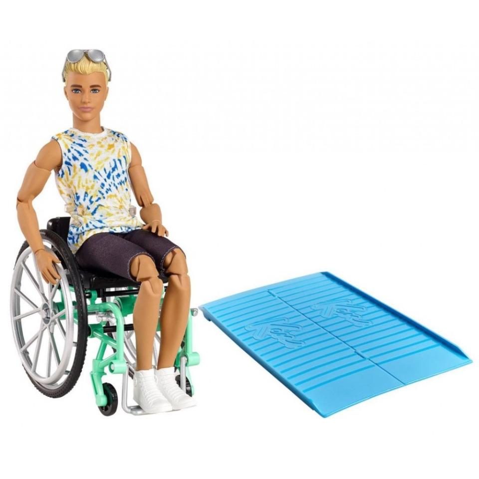 Obrázek 2 produktu Mattel Ken na invalidním vozíku, GWX93