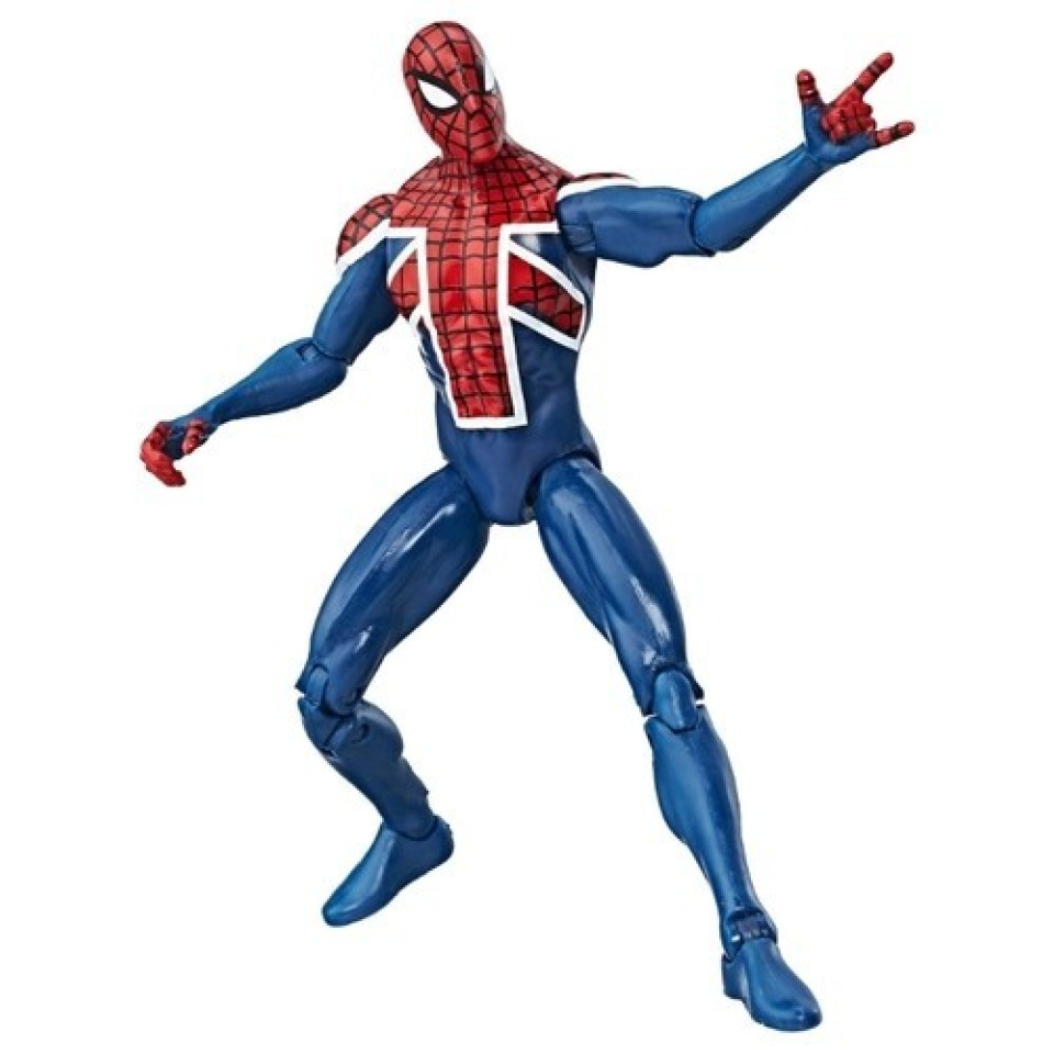 Obrázek 1 produktu Spiderman Legends Series prémiová figurka Marvels Spider-UK, Hasbro C0323