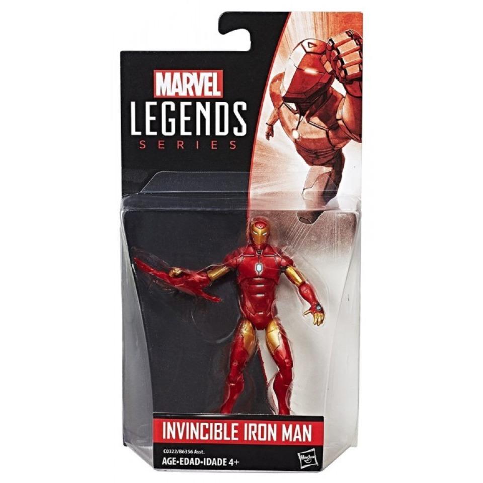 Obrázek 1 produktu Spiderman Legends Series prémiová figurka Marvels Invincible Iron Man, Hasbro C0322