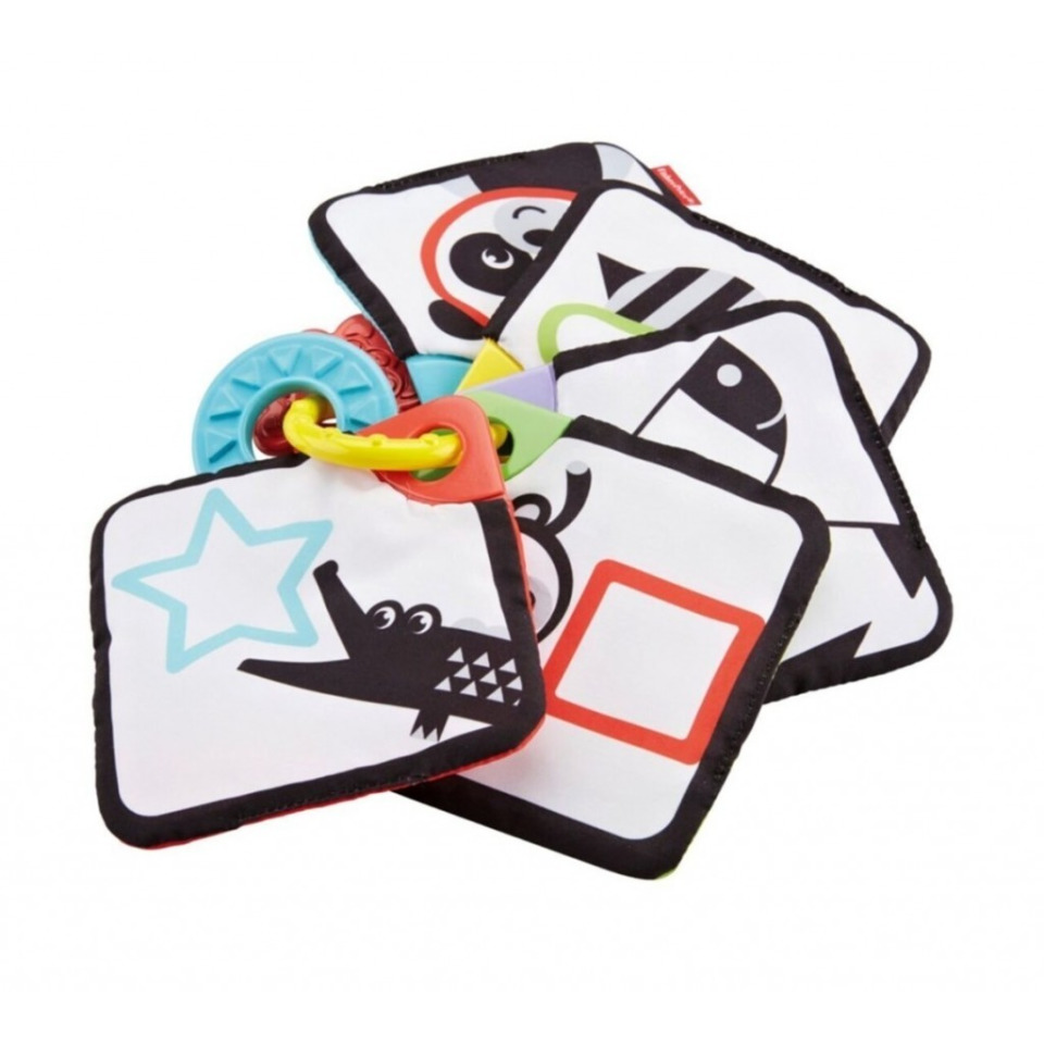 Obrázek 2 produktu Fisher Price 1-až-5 Naučné karty, Mattel GFX90