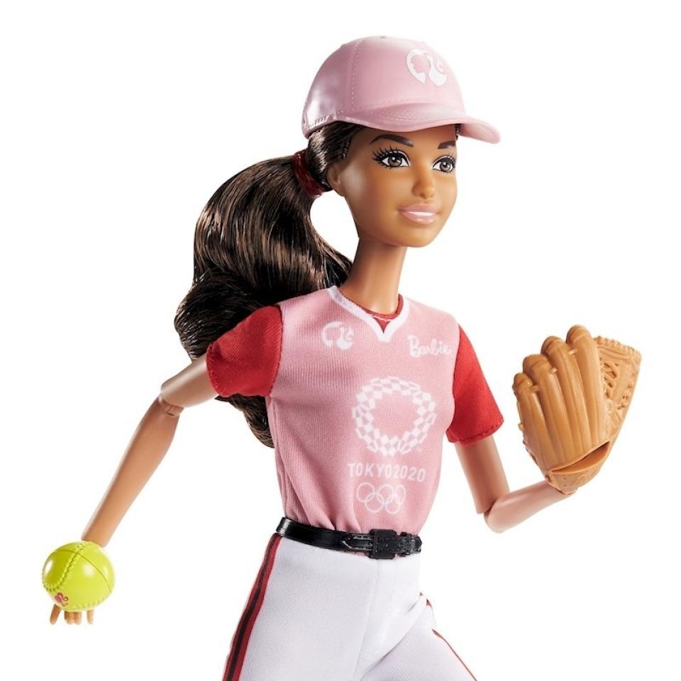 Obrázek 1 produktu Mattel Barbie Softball Tokyo 2020, GJL77