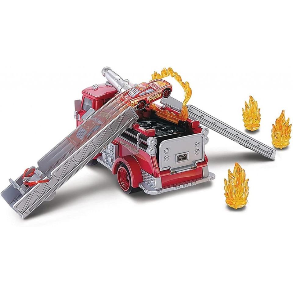 Obrázek 2 produktu Cars Color Changers Stunt & Splash RED, Mattel GPH80