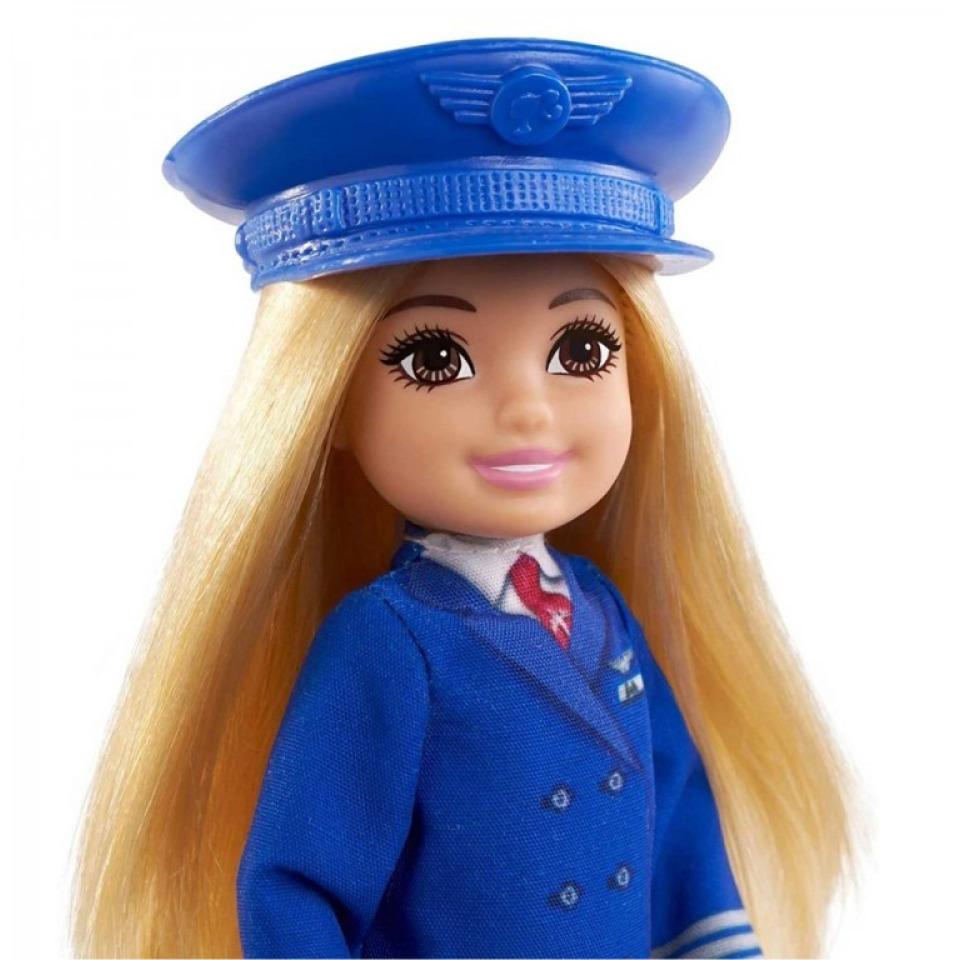 Obrázek 1 produktu Mattel Barbie Chelsea v povolání Pilotka, GTN90