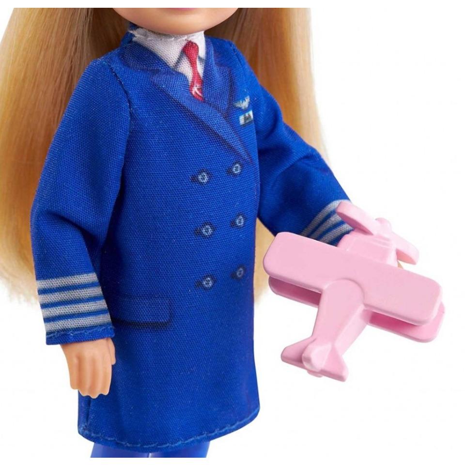 Obrázek 2 produktu Mattel Barbie Chelsea v povolání Pilotka, GTN90