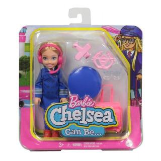 Obrázek 4 produktu Mattel Barbie Chelsea v povolání Pilotka, GTN90