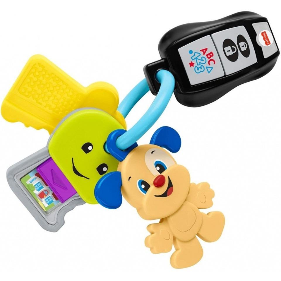 Obrázek 1 produktu Fisher Price  Svazek klíčů CZ, Mattel GRF20