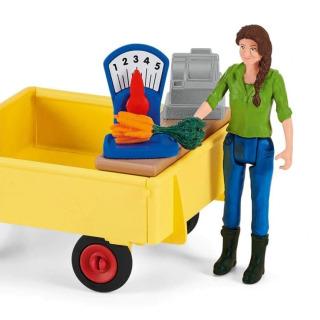 Obrázek 3 produktu Schleich 42528 Mobilní farmářský stánek