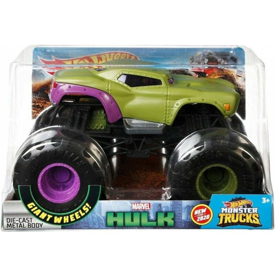 Obrázek 1 produktu Hot Wheels® Monster Trucks HULK, 19cm, Mattel GJG69