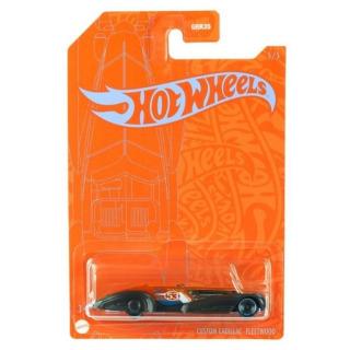 Obrázek 2 produktu Hot Wheels Orange & Blue tematický angličák CUSTOM CADILLAC FLEETWOOD, Mattel GRR42