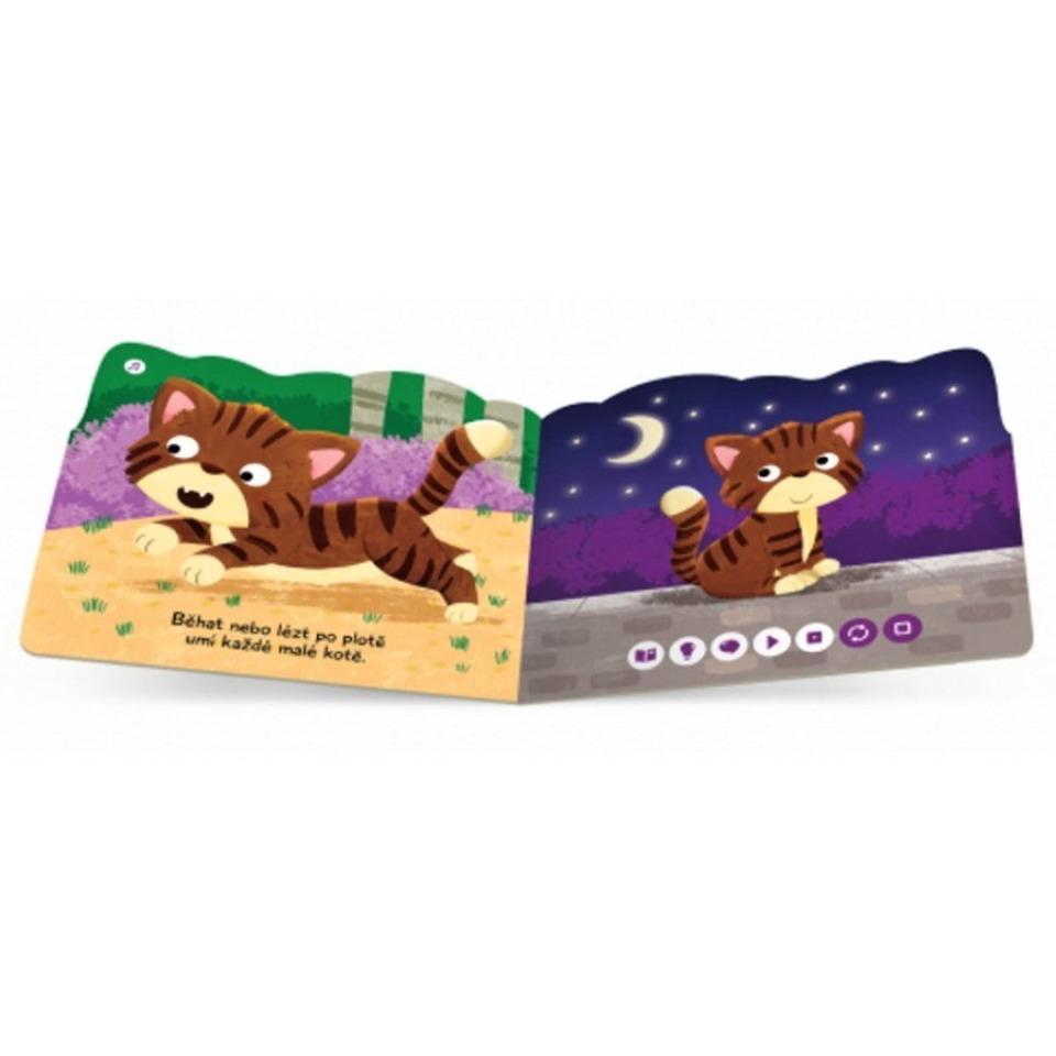 Obrázek 3 produktu Albi Kouzelné čtení Minikniha s výsekem - Kočka
