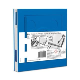 Obrázek 2 produktu LEGO Zápisník s gelovým perem jako klipem - modrý