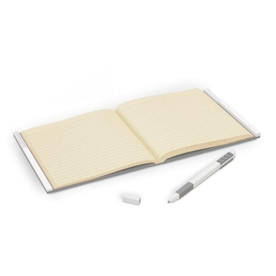 Obrázek 2 produktu LEGO Zápisník s gelovým perem jako klipem - šedý