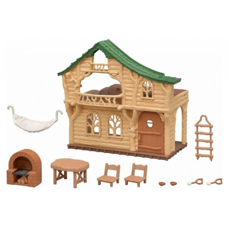 Obrázek 1 produktu Sylvanian Families 5451 Srub s nábytkem