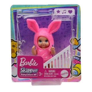 Obrázek 3 produktu Barbie Skipper Miminko zajíček, Mattel GRP02