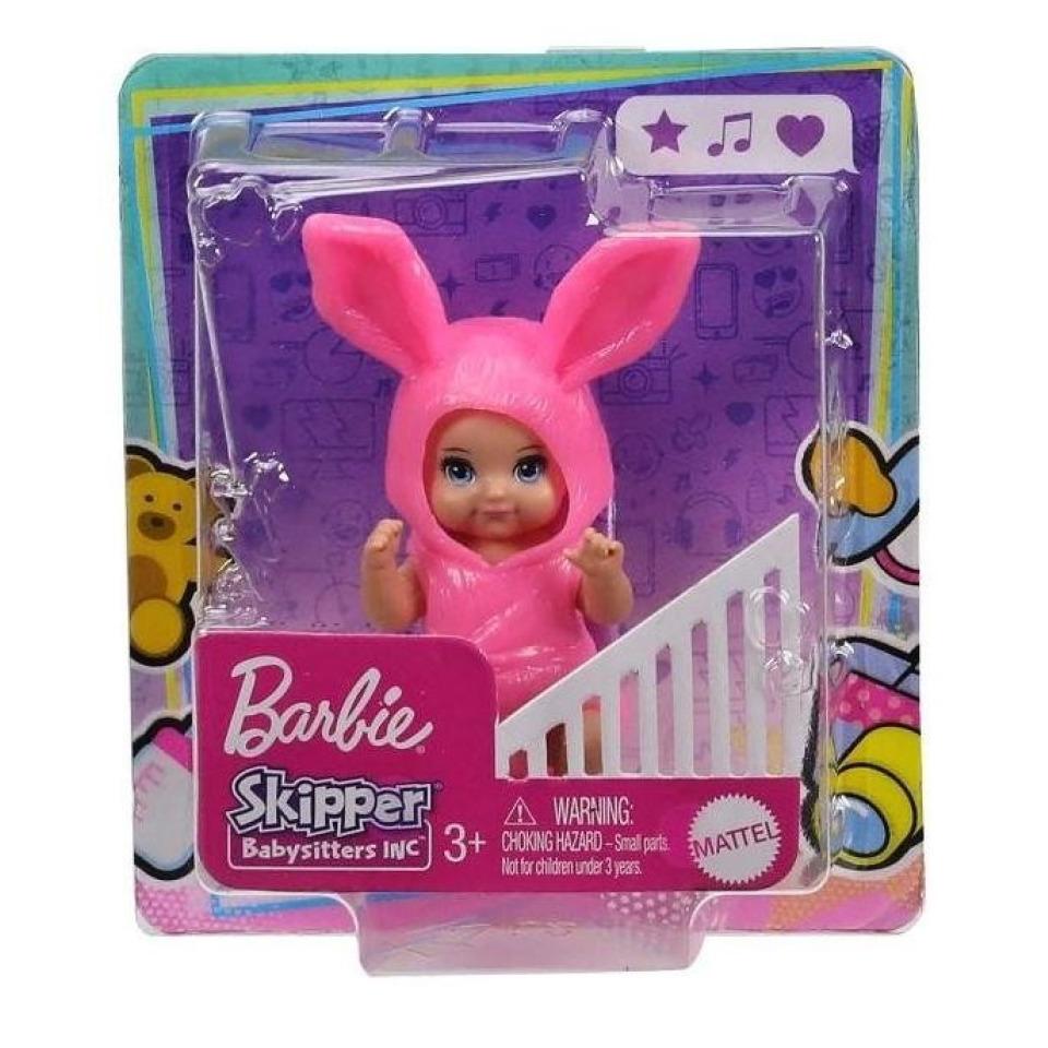 Obrázek 2 produktu Barbie Skipper Miminko zajíček, Mattel GRP02