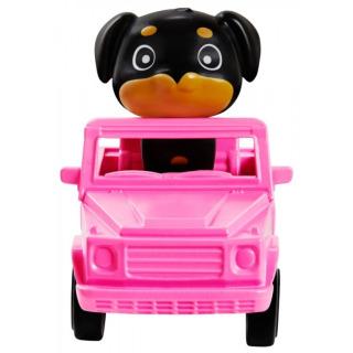 Obrázek 3 produktu Barbie Extra Stylová dlouhovláska s pejskem v autě, Mattel GRN29