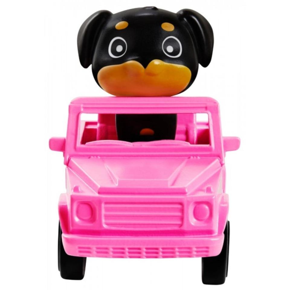 Obrázek 2 produktu Barbie Extra Stylová dlouhovláska s pejskem v autě, Mattel GRN29