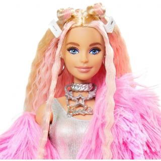 Obrázek 2 produktu Barbie Extra Stylová dlouhovláska s prasátkem, Mattel GRN28