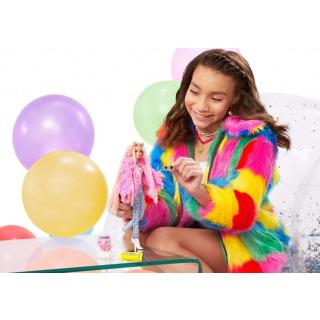 Obrázek 4 produktu Barbie Extra Stylová dlouhovláska s prasátkem, Mattel GRN28